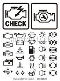 stock vector car dashboard warning information icons set 39881026 dashboard template with login system,template free download card on free download login page template in html