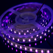 Blacklight String Lights Beauteous Super Bright 32 32m UV Ultraviolet LED Strip Blacklight 320320 322V