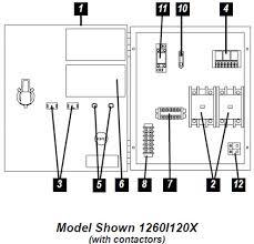 sje rhombus sje rhombus model 126 duplex alternating single 1 phase submersible pump starter at Single Phase Water Pump Control Panel Wiring Diagram