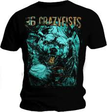 36 crazy fists t shirt