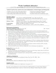 Help Desk Technician Resume Entry Level It Resume Sample Entry Level It Resume Sample Desktop ...