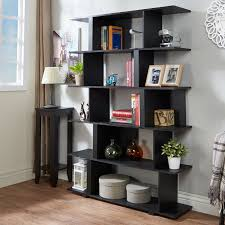 Furniture of America Lian Modern Black Open Shelf Bookcase/ Room Divider -  Free Shipping Today - Overstock.com - 20430447