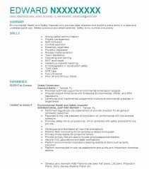 How To Word Safety Violation Free On Resume Elegant Mechanical Amazing Mechanical Inspector Resume