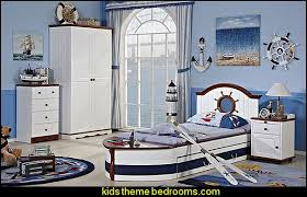 seaside bedroom furniture. American Country Custom Furniture Pirate Bed Nautical Bedroom Ideas - Decorating Style Bedrooms Seaside E