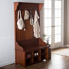 Hall Coat Rack Bench Bench Large Storage Bench White Entryway Ideas Padded Hall Tree 61