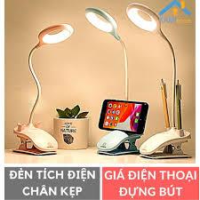 Đèn học chân kẹp và để bàn sạc tích điện bóng led chống cận thị mã 36023a  giá cạnh tranh