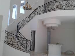 Wrought Iron Handrails Wrought Iron Stair Railing 3