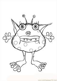 Small Picture 32 best monster printables images on Pinterest Cute monsters