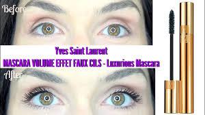 <b>Yves Saint Laurent</b> MASCARA <b>VOLUME</b> EFFET FAUX CILS ...