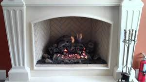 FMI Mission Fireplace  With A Flip Of A Switch Start Up Your Fmi Fireplaces