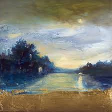 deep blue landscape 2008 by holland berkley park west gallery