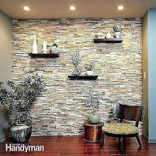 interior stone wall ideas interior stone walls of faux stacked stone wall panels