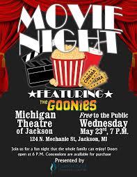 Free Movie Night Flyer Templates Movie Night Flyer Andone Brianstern Co