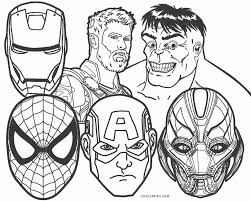 A huge collection of avengers coloring pages for children and adults. Avengers Coloring Pages Cool2bkids