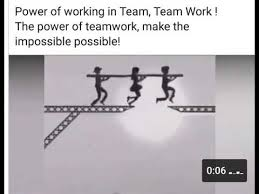 working as a team power of working in team team work youtube