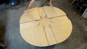 Expanding Tables Wooden Expanding Table Youtube