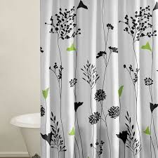 unusual black and white shower curtain uk ideas the best bathroom