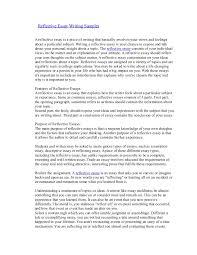 Personal Reflective Essay Example Under Fontanacountryinn Com
