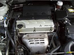 2004 Mitsubishi Galant ES 2.4L SOHC 16V Inline MIVEC 4 Cylinder ...