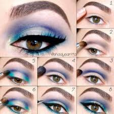 diffe kinds makeups step by step diffe eyeliner styles what s your eye shape description with makeup