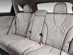 2010 toyota venza rear seat