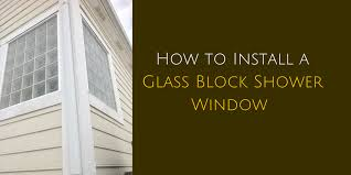 how to install a glass block shower innovate building solutions
