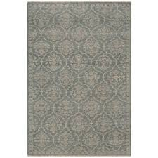 couristan tenali fl arabesque sage green wool area rug 2