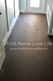 house living room concrete floor santorini painted