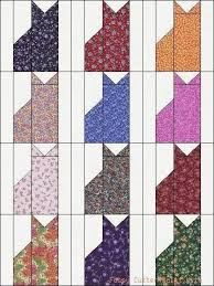 Calico Cat Quilt Pattern | Calico Kitty Cats Kittens Grab Bag of ... & Calico Cat Quilt Pattern | Calico Kitty Cats Kittens Grab Bag of Fabric  Easy Pre- Adamdwight.com