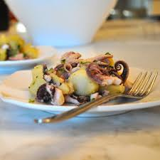 Octopus and Potato Salad - Nusa Recipe