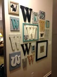 large letter wall decor metal letter wall art large letters for decor stencils g