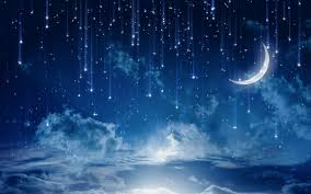 Stars and Moon Wallpaper on WallpaperSafari