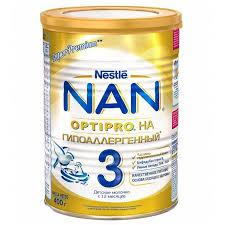 <b>Смесь NAN</b> (Nestl?) <b>Гипоаллергенный 3</b> Optipro (с 12 месяцев ...