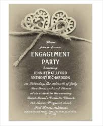 Engagement Invite Templates