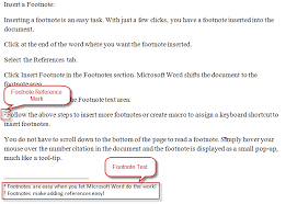 footnotes and works cited how to insert footnotes in word 2010