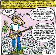 What would Pussy Riot do a Jeffrey Lewis comic strip Music.