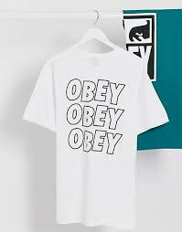 <b>Obey</b>   Купить <b>футболки</b>, майки и джерси <b>Obey</b>   ASOS