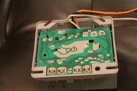 tim tears it apart honeywell r8184 oil fired boiler controller underside of oil burner controller