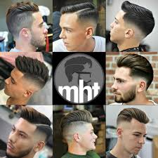 Barber Hairstyles Chart Haircut Chart For Barber Shops Inspirational Men S