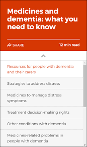 dementia fact sheet dementia australia medicines and dementia what you need to know