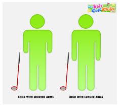 Golf Club Sizing Chart For Juniors Bedowntowndaytona Com