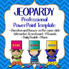 Jeopardy Powerpoint Template New Jeopardy Game Template English Teaching 48English Teaching 48