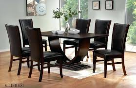 modern dining table set amazing dark wood tables and chairs fresh idea to design your white