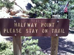 Image result for half way home sign