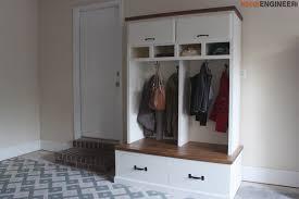 diy plans mudroom locker with bench rogue engineer 1