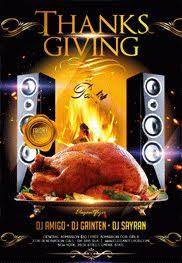 thanksgiving party flyer thanksgiving party flyer psd template facebook cover by