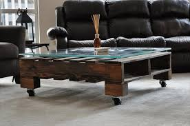 Coffee Table Surprising Coffee Table On Wheels Ideas Round Coffee Pallet Coffee Table On Wheels
