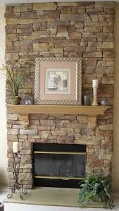 Stone Surround For Gas Fireplace : Creative Stone Surround For Gas Fireplace  Home Decor Color Trends