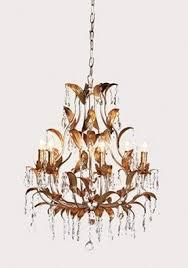 crystal gold leaf chandelier 33 l79