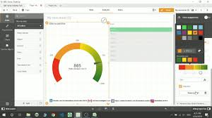 Qlik Sense Gauge Chart 18 E Charts Part 5 Gauge Chart In Qlik Sense Youtube